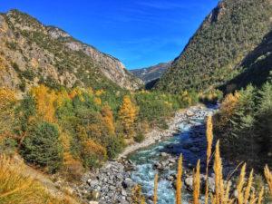 Couleurs d'automne vallée du Guil