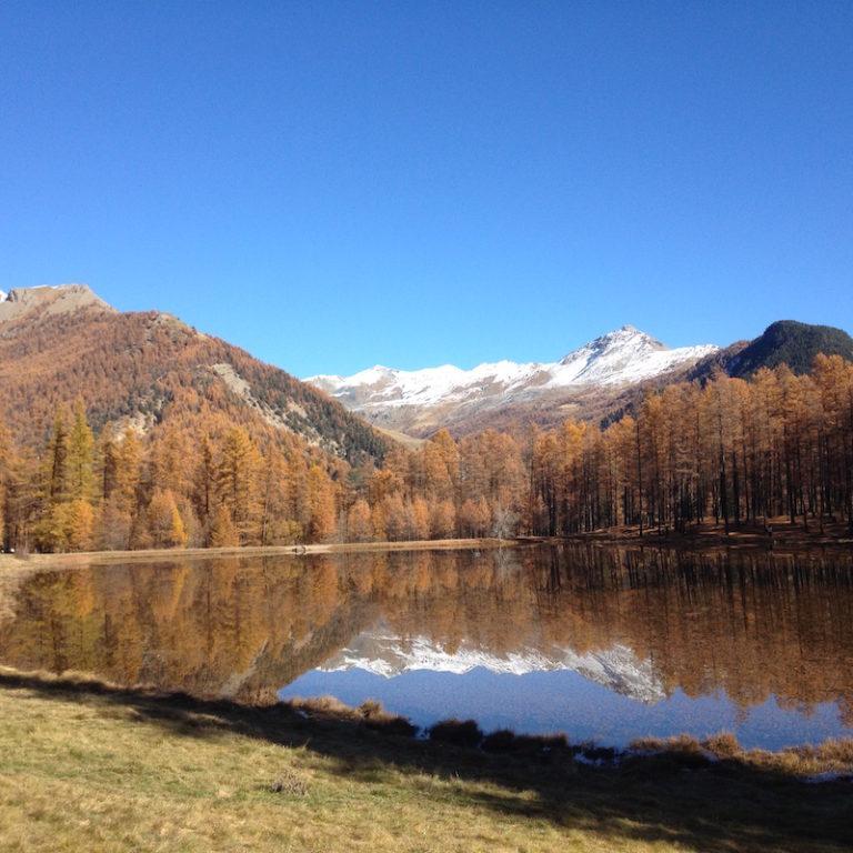 Automne lac de Roue
