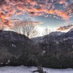 Coucher de soleil Mont Dauphin
