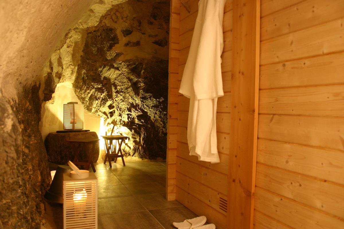 Sauna à la Maison du Guil