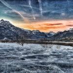 Vallée de la Durance en hiver