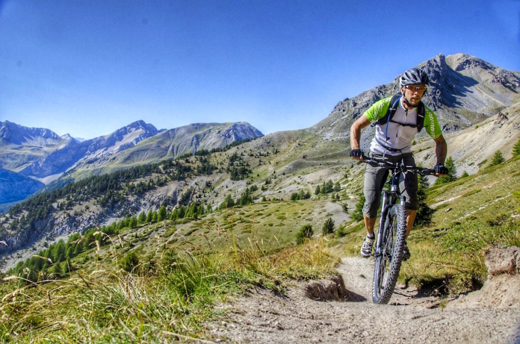 Mountain bike alps