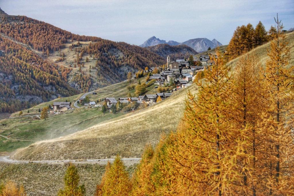 Saint Veran en automne