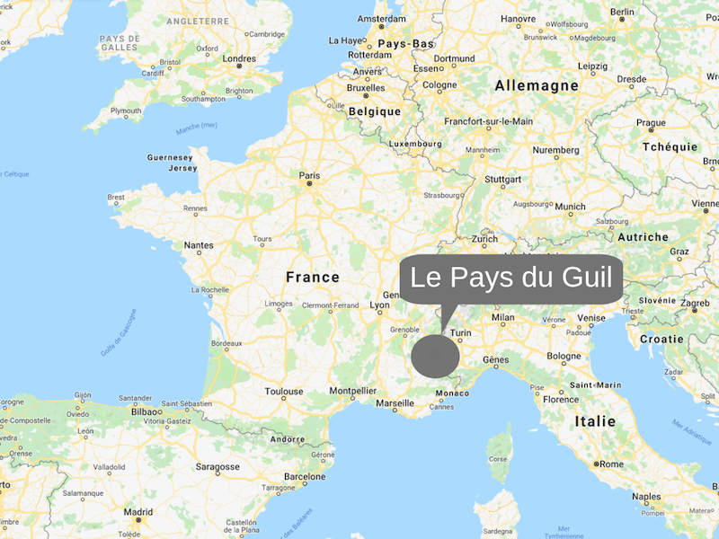 Situation Pays du Guil