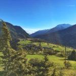 Vue sur Eygliers et Monta Dauphin