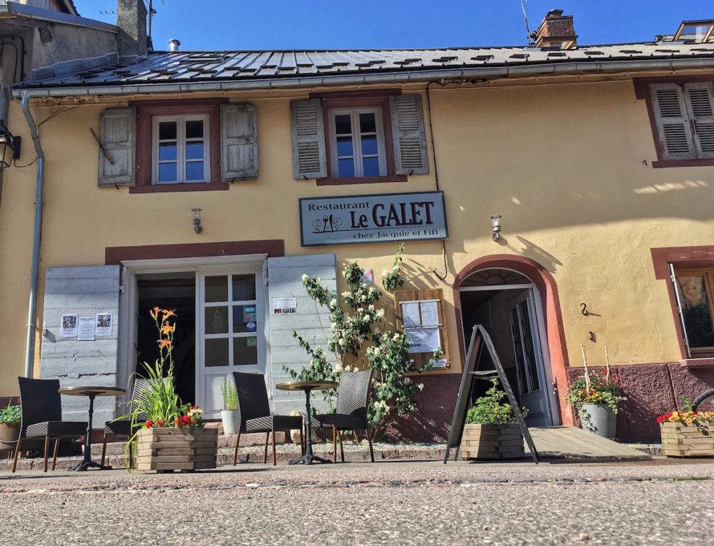 Restaurant Le Galet chez Jaquie et Fifi Mont Dauphin