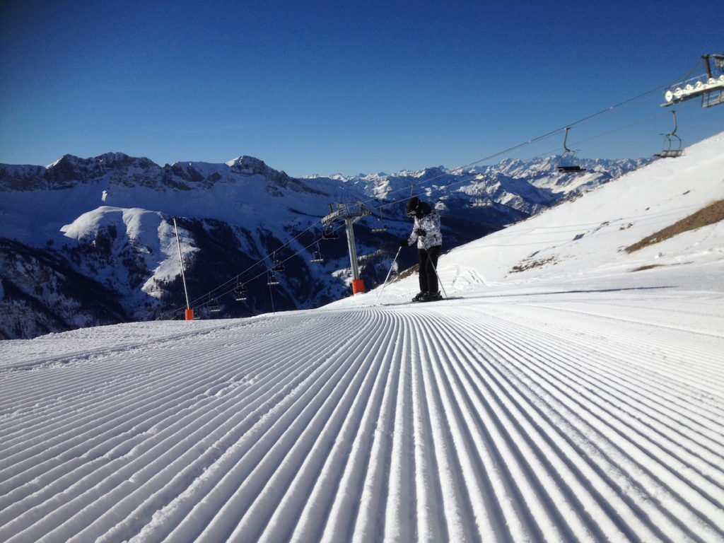 Ski Saint Véran dans le Queyras