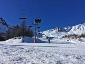 On the ski domain in Vars